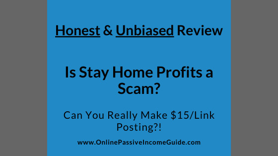 Honest Stay Home Profits Review