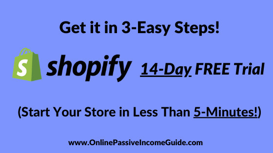 Shopify 14-Day Free Trial