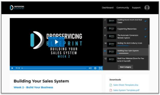 Inside Drop Servicing Blueprint