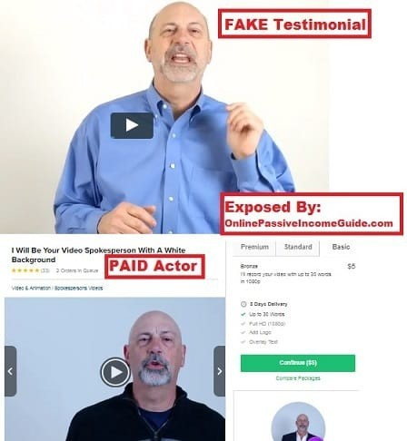 Affiliate Marketing Fake Results