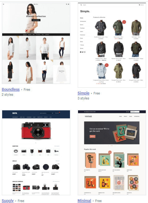 Good Shopify Themes for Dropshipping