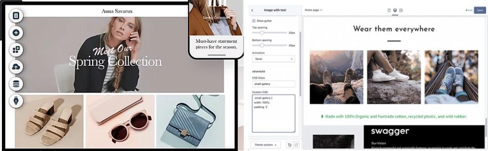 Shopify & Wix Store Customization