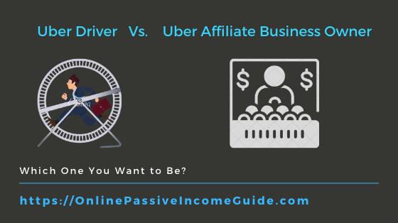 Uber Driver Vs. Uber Affiliate