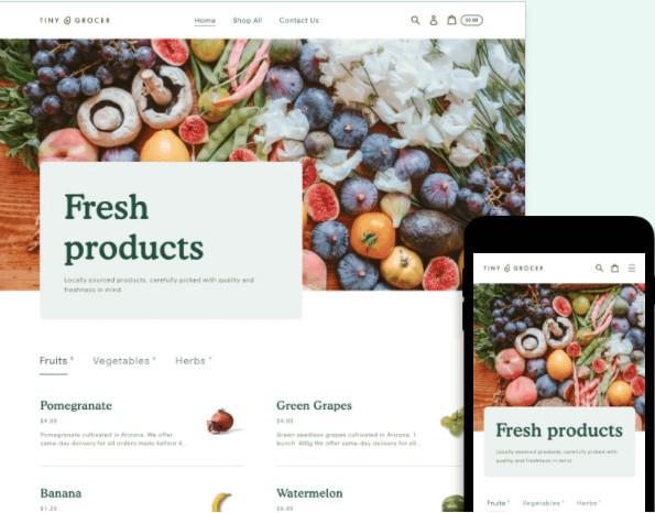Express Shopify Grocery Theme