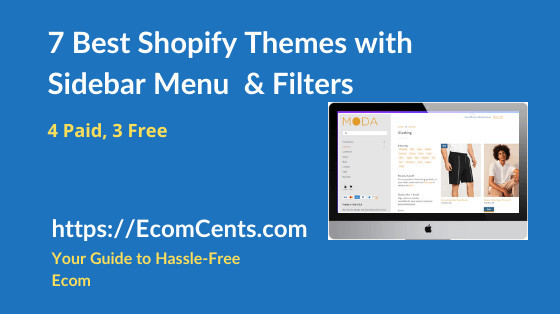 Best Shopify Themes with Sidebar