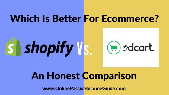 3dcart Vs. Shopify Comparison