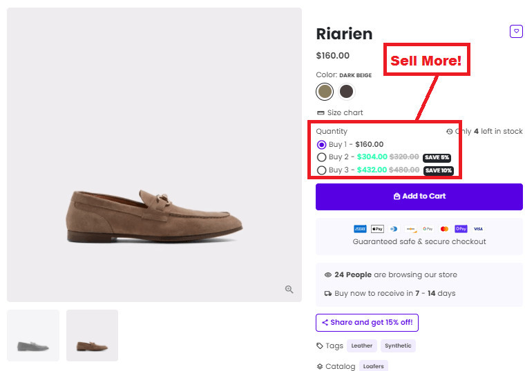 High Dropshipping Store AOV for Success