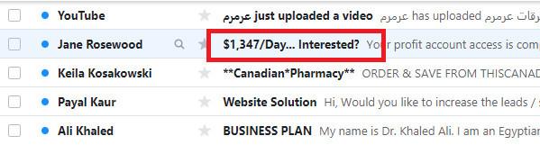 PI365 Spam Emails