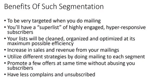 Benefits of EmproTools Segmentation