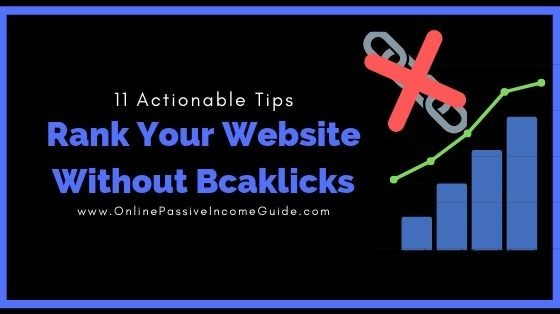 How To Rank A Website Without Backlinks