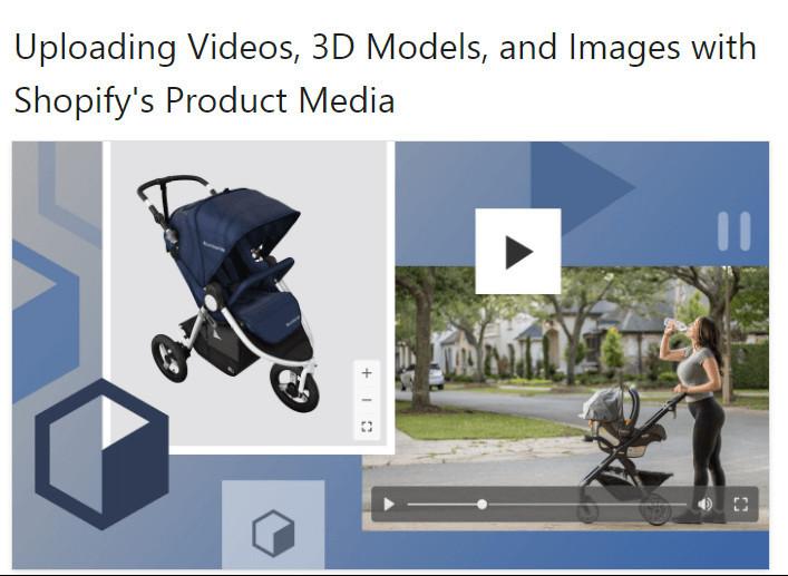 Shopify Flex Theme Product Video & 3D