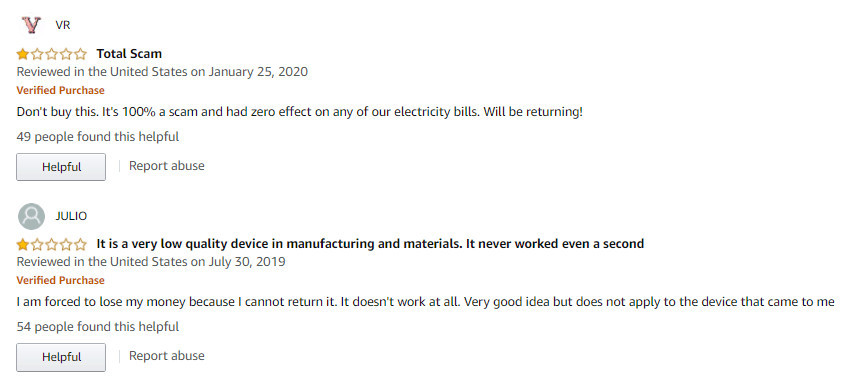 Amazon Power Saver Reviews