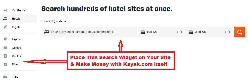 Make Money with The Kayak Affiliate Program