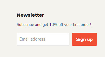 Collect Emails with Empire Theme