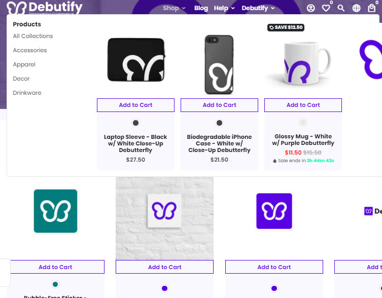 Debutify Large Inventory Freemium Theme
