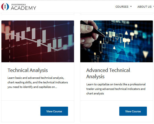 Investopedia Courses Model