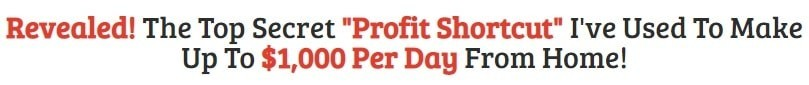 The Profit Shortcut Results Claims