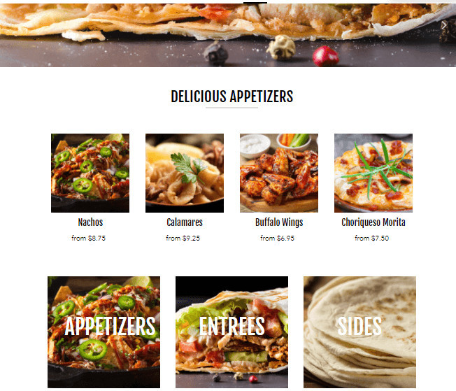 Vantage Shopify Food Delivery Theme