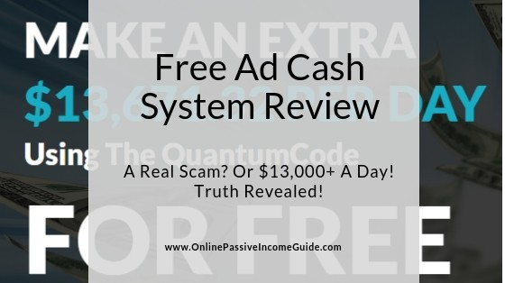 Free Ad Cash System Review