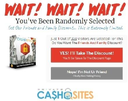 Private Cash Sites Discount