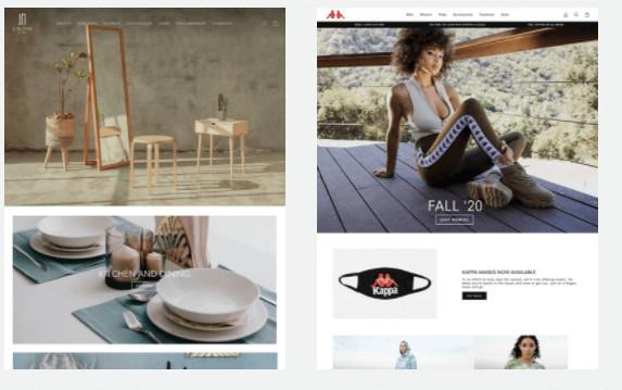 Impulse Theme Example Stores