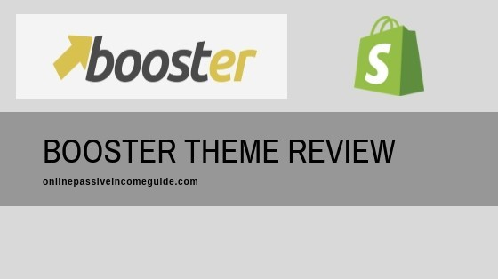 Shopify Booster Theme Review & Discount