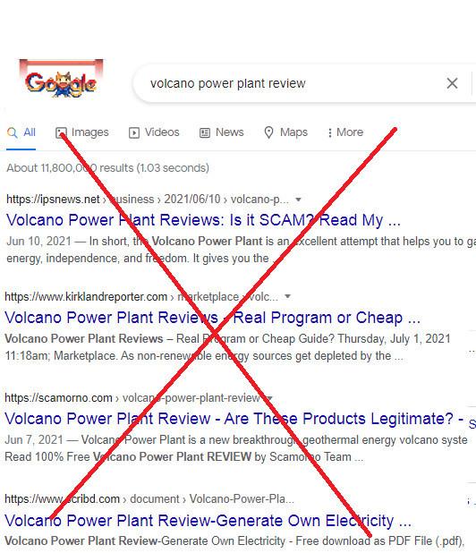 Volcano Power Plant Biased Reviews