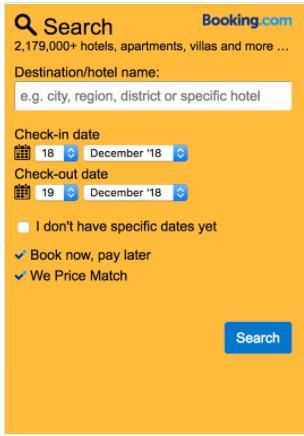 Booking.com Affiliate Tools