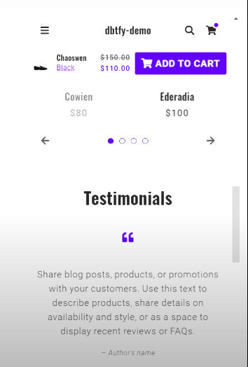 Debutify Product Reviews Feature