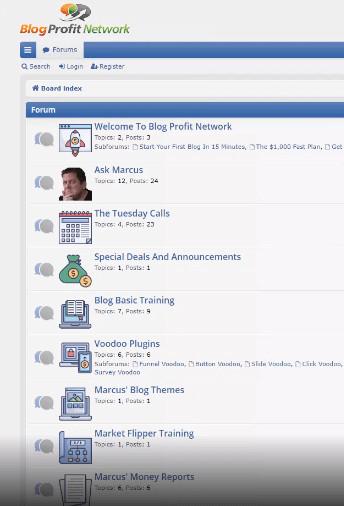 Blog Profit Network Members Area