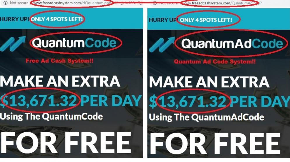 Michael Crawford Quantum Ad Code