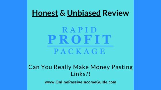 Honest Rapid Profit Package Review