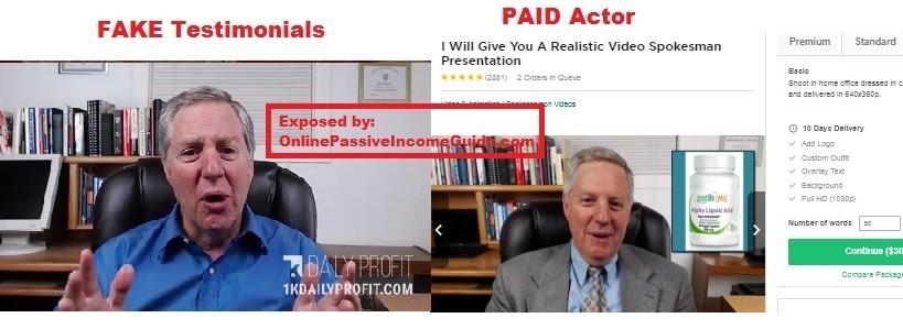 1K Daily Profit Testimonials