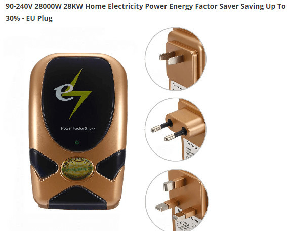 Power Factor Correction Saver Fraud