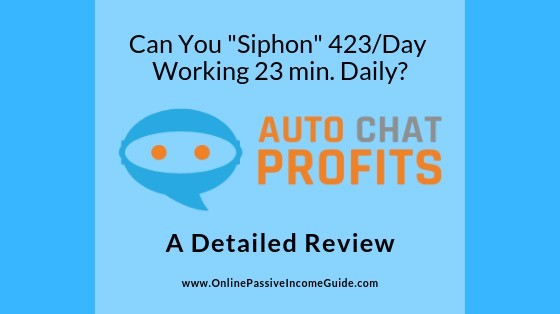 Auto Chat Profits Review
