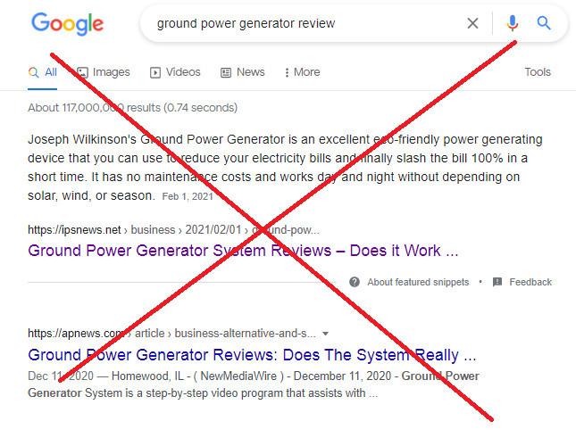 Is Ground Power Generator Legit