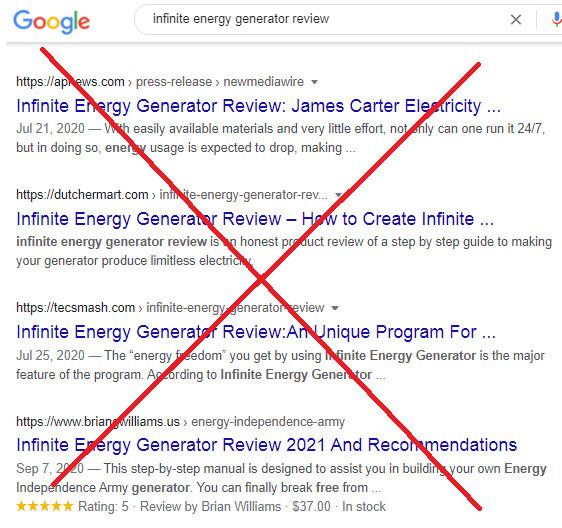 Is Infinite Energy Generator Legit