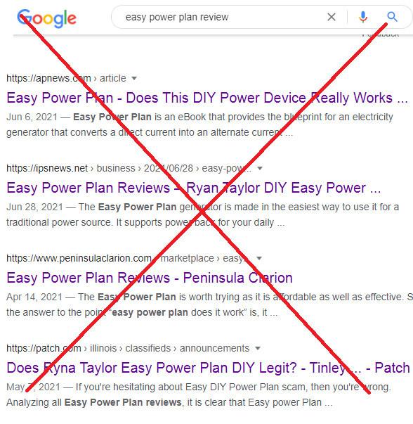 Easy DIY Power Plan Fraud