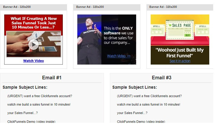 ClickFunnels Affiliate Promotional Tools