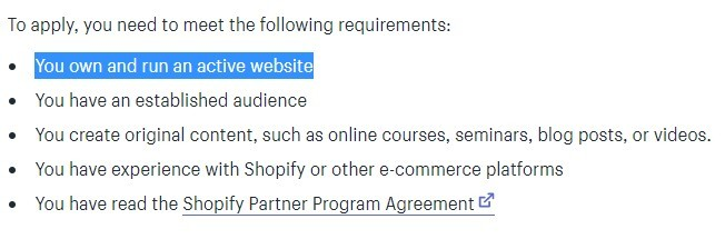 How To Become A Shopify Affiliate