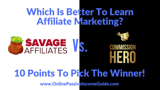 Commission Hero Affiliate Marketing Buyback Offer 2020