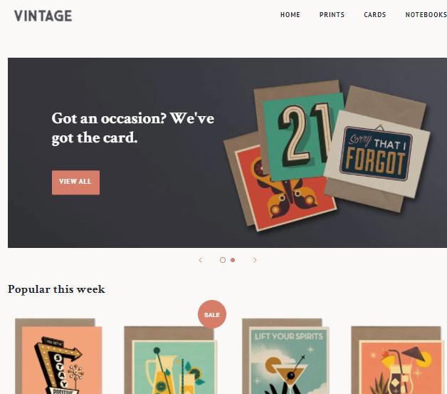 Minimal Art Prints Shopify Theme