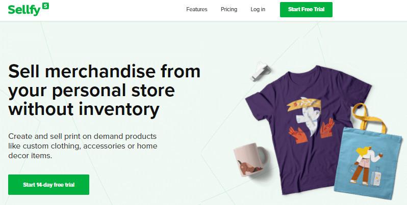 Sellfy Merch Alternative to Amazon