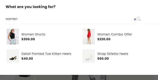 Avone Shopify Ajax Search