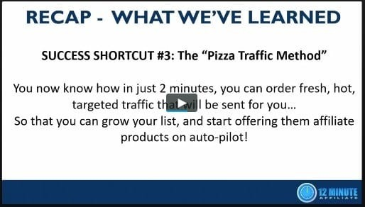 Pizza Traffic Method 12 Min Affiliate