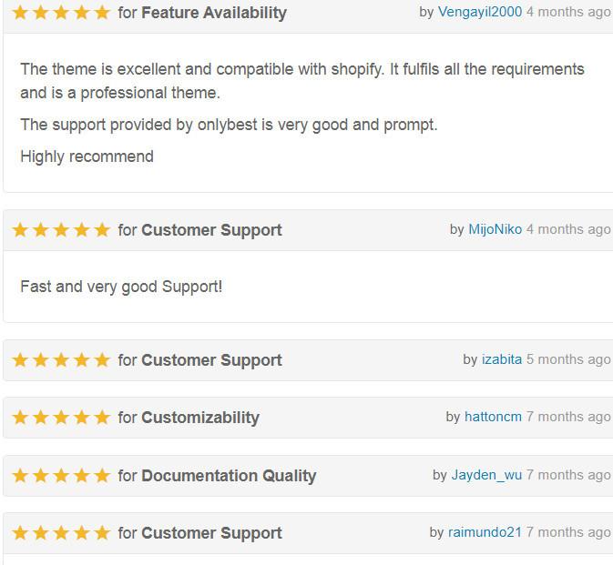 Porto Theme User Reviews