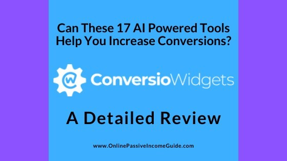 Detailed ConversioWidgets Review