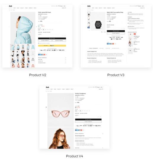 Shella Shopify Theme Flexibility