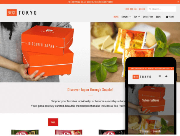Mobilia Shopify Theme for Grocery