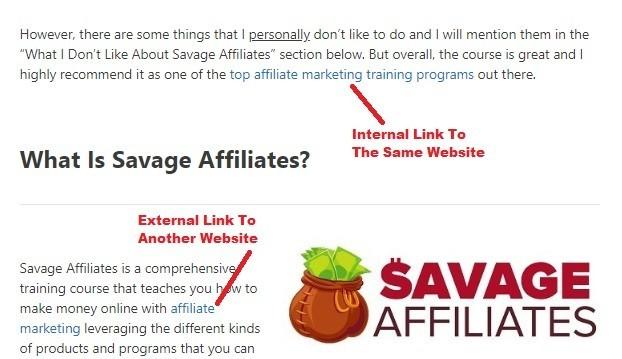 Internal & External Links